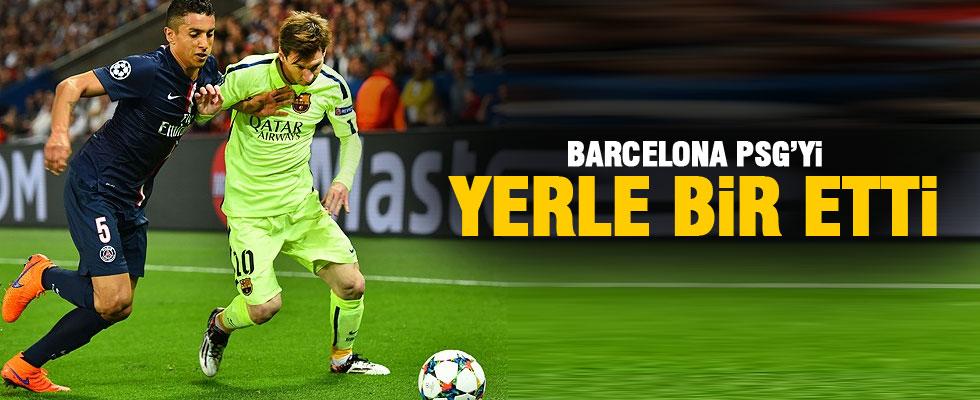Zlatan'sız PSG'yi Barça'ladılar!