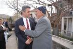 Bolu Valisi Aydın Baruş Şehit Ailesini Ziyaret Etti