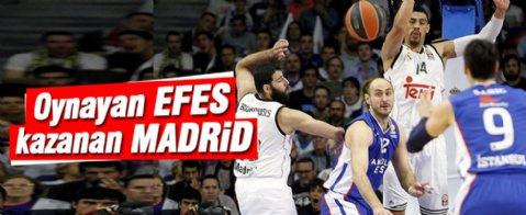 Real Madrid - Anadolu Efes: 90-85