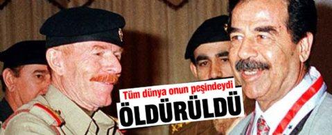 Saddam'ın yardımcısı öldürüldü