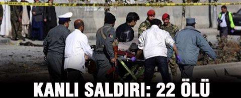 Afganistan'da kanlı saldırı: 22 ölü