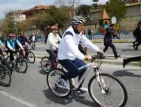 Erdoğan, Cumhurbaşkanlığı Türkiye Bisiklet Turu'nda pedal çevirdi