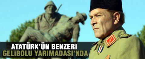 'Atatürk'ün benzeri' Gelibolu Yarımadası'nda