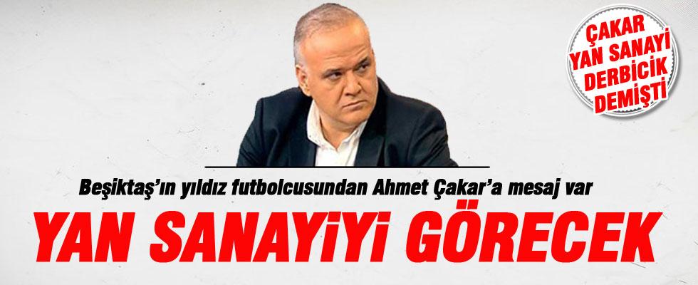 Olcay Şahan'dan Ahmet Çakar'a: Yan sanayiyi göreceksin