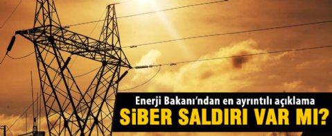 Enerji Bakanı Yıldız'dan elektrik kesintisi açıklaması