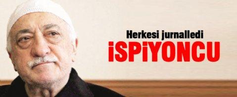 Fethullah Gülen herkesi jurnalledi