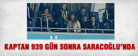 Alex de Souza, Bursaspor maçını Saracoğlu'nda izledi