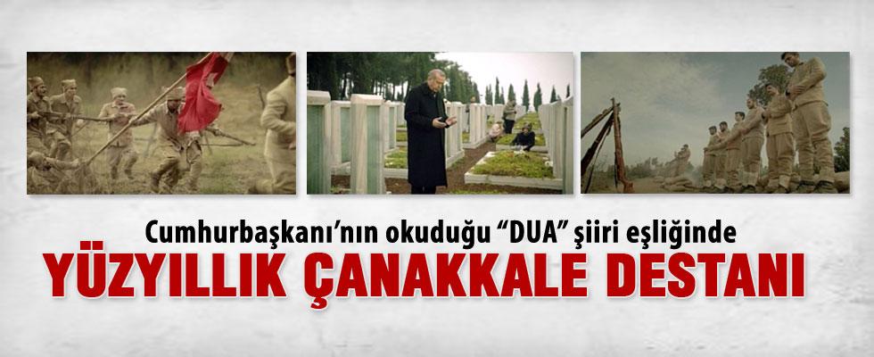 Cumhurbaşkanlığı'ndan Çanakkale Zaferi tanıtım filmi