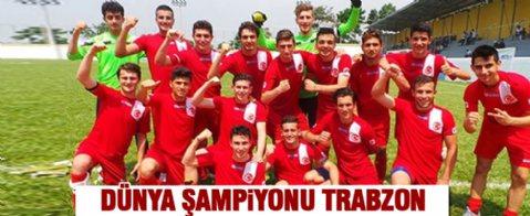 Trabzon Erdoğdu Anadolu Erkek Lisesi dünya şampiyonu oldu