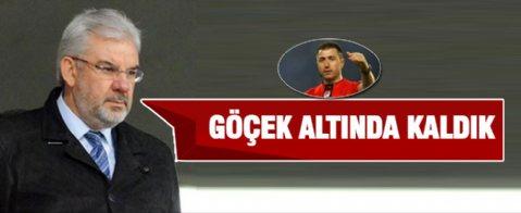Bursaspor başkanı isyan etti