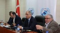CENGİZ YAVİLİOĞLU - İçişleri Eski Bakanı Efkan Ala, Erzurum Ticaret Borsası'ndaydı