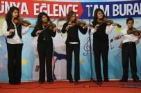 EĞLENCE FUARI - Roman Orkestrası'ndan Keman Şov