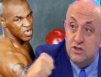MIKE TYSON - Sinan Engin, Mike Tyson boks maçı sonunda gerçekleşti