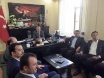 Ak Parti Milletvekili Adayları Kozaklı Kaymakamı Duru'yu Ziyaret Etti
