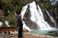 AK Parti Adayı Aydın, Orman İşletme Müdürü Olarak Görev Yaptığı İlçede Destek İstedi