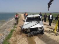 Kontrolden Çıkan Otomobil Suğla Gölü'ne Uçtu