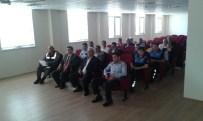 MAHMUT ŞAFAK - Manavgat'ta Turizm Taşımacılığı Yapan Şirketlere Yönelik Bilgilendirme Toplantısı Yapıldı