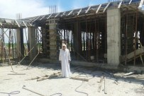 HÜYÜKLÜ - Yarım Kalan Cami İnşaatı Yardım Bekliyor