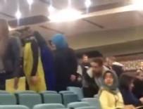 GÜLEN CEMAATİ - Gülencilerin üniversitesinde CHP propagandasına tepki