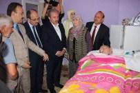 MALULEN EMEKLİLİK - AK Parti Genel Başkan Yardımcısı Mustafa Şentop'tan, Fedakar Anneye Anlamlı Ziyaret
