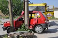 TOYGAR MAHALLESI - Balıkesir'de Trafik Kazası Açıklaması 2 Yaralı