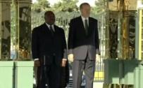 GABON CUMHURBAŞKANI - Gabon'lu Mevkidaşını Resmi Törenle Karşıladı