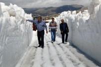 Mayıs Ayında Kar Kalınlığı 5 Metre