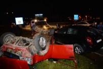 Ordu'da İki Otomobil Çarpıştı Açıklaması 4 Yaralı