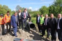 ALI ERDOĞAN - Kavak'ta İçme Suyu Projesi Başlatıldı