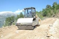 Kırsal Bölgelerde Yol Çalışmaları Devam Ediyor