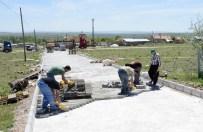 KARADIĞIN - Meram Belediyesi Fen İşleri Çalışmalarını Sürdürüyor