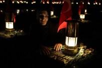 ŞEHİT AİLELERİ - Şehitliğe Karanlık Çöktü Ama...