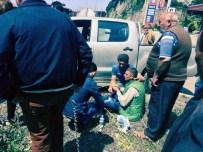 RAMAZAN ÇAKıR - Zonguldak'ta Trafik Kazası Açıklaması 3 Yaralı