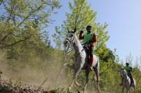 Eğirdir'de Atlı Dayanıklılık Yarışı