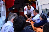 Otomobilin Çarptığı Kadın Yaralandı