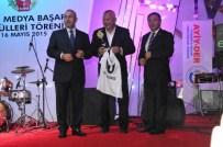 FATIH ÇEKIRGE - Alanya'da Yılın Gazetecileri Ödüllerini Aldı