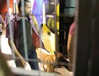 MERSIN - Fenerbahçe Otobüsü'nde bomba araması