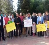AHMET AYGÜN - Mursi'nin İdam Kararı Midyat'ta Protesto Edildi