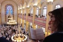 DİNİ ÖZGÜRLÜK - Balkanların En Büyük Sinagoguna Türk Musevi Cemaati'nden Yoğun İlgi