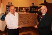 Prof. Dr. Hüseyin Ülgen, Başkan Arslan'ı Ziyaret Etti