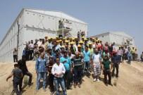 ÖZEL GÜVENLİK - Mersin'de İşçilerin Eyleminde Gerginlik