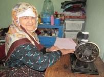 SAVAN - Sacide Nine Kendi İle Yaşıt Makineyle Hala Üretim Yapıyor
