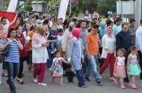 ÇİFT BAŞLILIK - AK Parti Adayı Uslu, Başkanlık Sistemi İle İlgili Soruları Yanıtladı