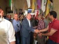 Miroğlu'ndan HDP Seçim Bürosu'na Ziyaret