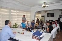 ÖZEL GÜVENLİK - Öğrencilerden Kaymakam Ermiş'e Ziyaret
