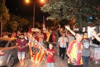 TRAKYA ÜNIVERSITESI - Galatasaray'ın Şampiyonluğu Edirne'de Coşkuyla Kutlandı