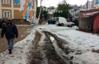 Kırıkkale'de Etkili Olan Dolu Ekili Alanlara Zarar Verdi