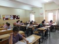 Çankırı İsmet İnönü Ortaokulunda Zor Sınav