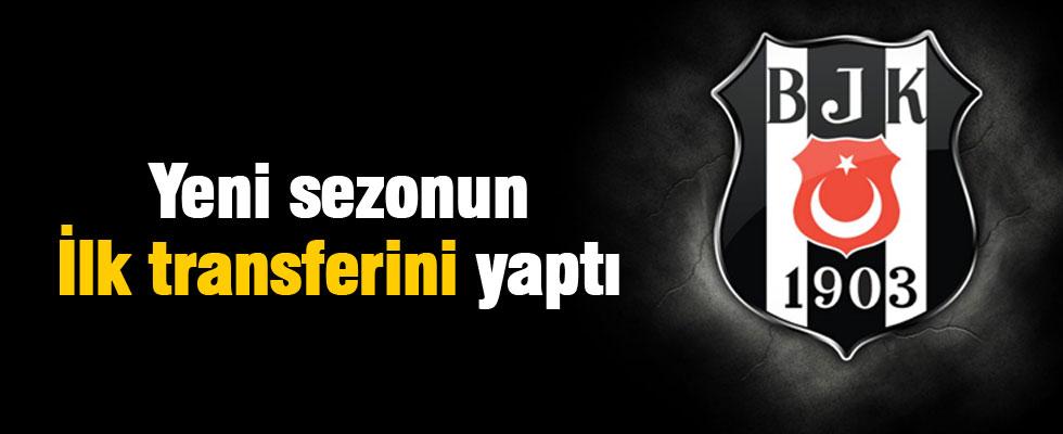 Beşiktaş'tan yeni sezonun ilk transferi
