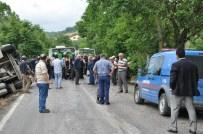 Balıkesir'de Traktörle Tanker Çarpıştı Açıklaması 3 Ölü